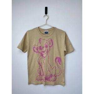 Zara Disney Lion King Simba Graphic Print T Shirt